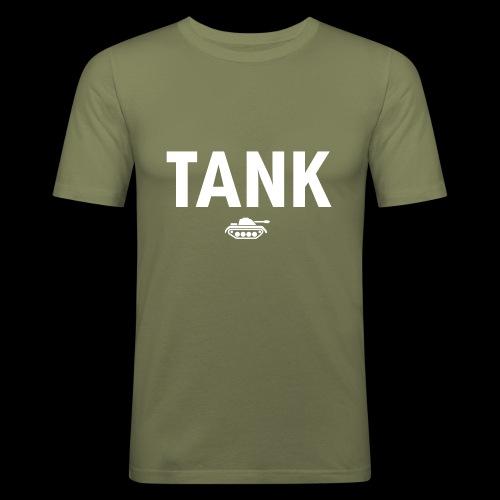 TANK DESIGN - slim fit T-shirt