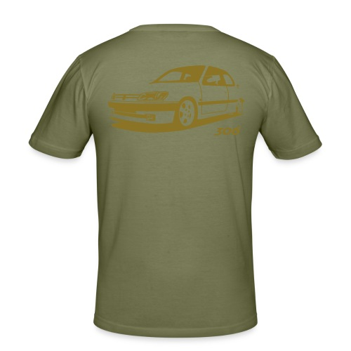 peugeot306 - Men's Slim Fit T-Shirt