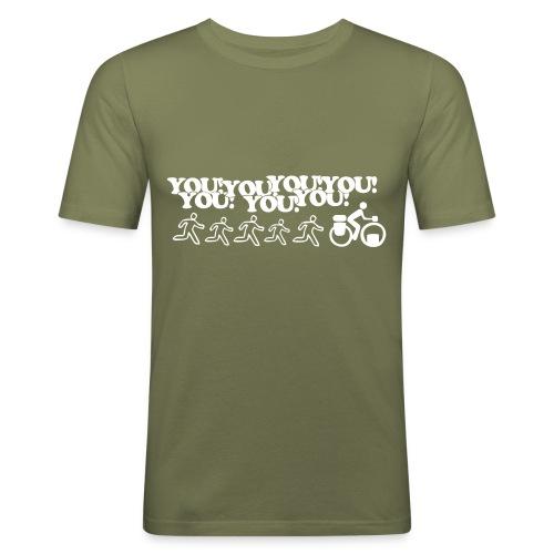 You! You! Ferenji! - Girlie - Männer Slim Fit T-Shirt