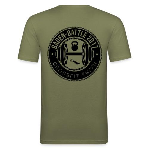 Crossfit Friedrichshafen / Konstanz Baden-Battle - Männer Slim Fit T-Shirt