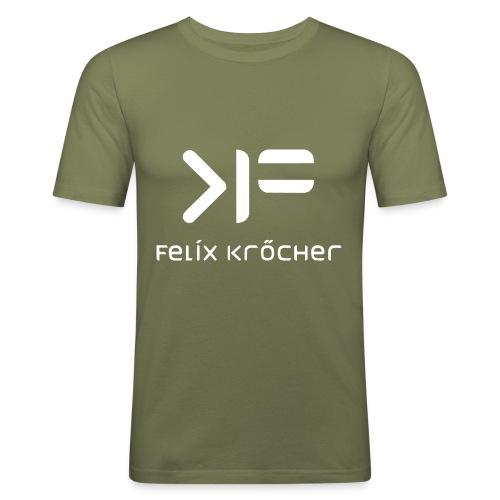 felix front - Männer Slim Fit T-Shirt