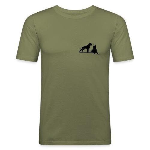 boksterit - Miesten tyköistuva t-paita