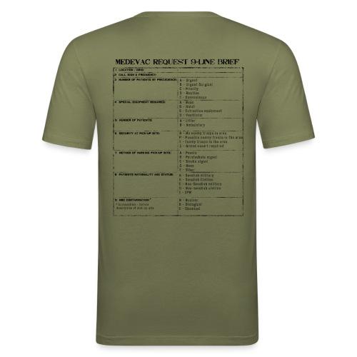 0019l - Slim Fit T-shirt herr