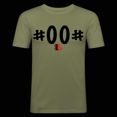 n° de série #00# Noir - T-shirt près du corps Homme