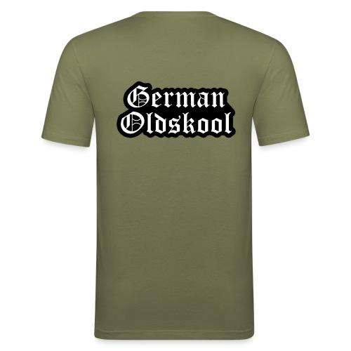 Grand Logo German Oldskool Official - T-shirt près du corps Homme