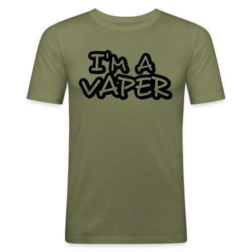 tshirt iam 1 exp - T-shirt près du corps Homme
