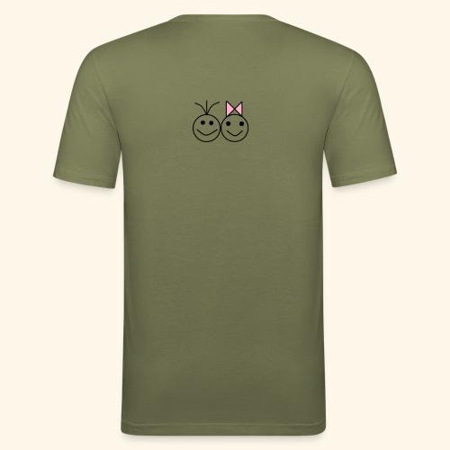 A Love A - Männer Slim Fit T-Shirt