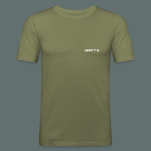 werft6 logo - Männer Slim Fit T-Shirt