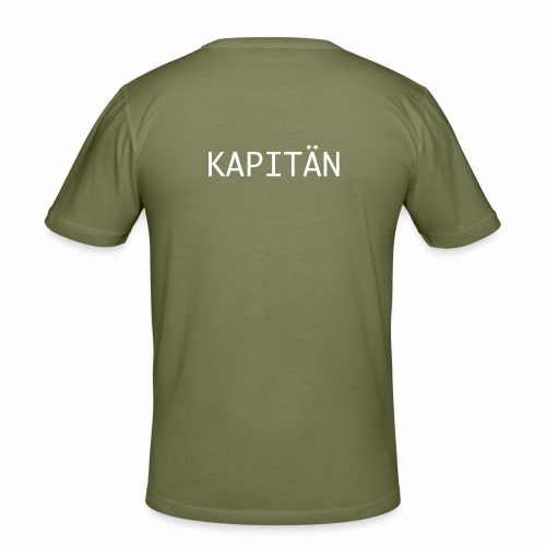 Kapitän Shirt - Männer Slim Fit T-Shirt