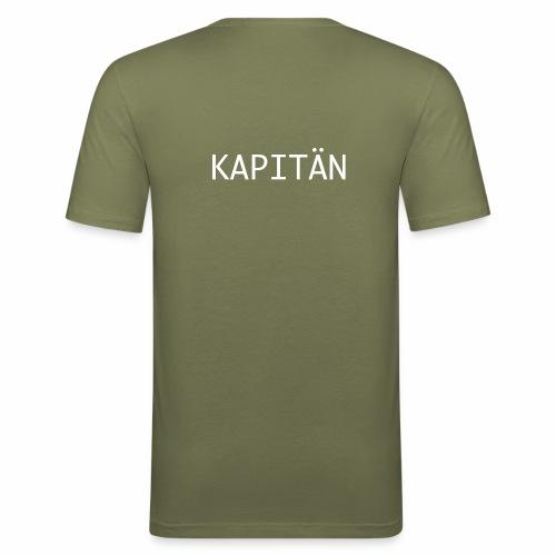 Kapitän Shirt - Männer Slim Fit T-Shirt