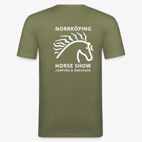 NiHS_1-colour - Slim Fit T-shirt herr
