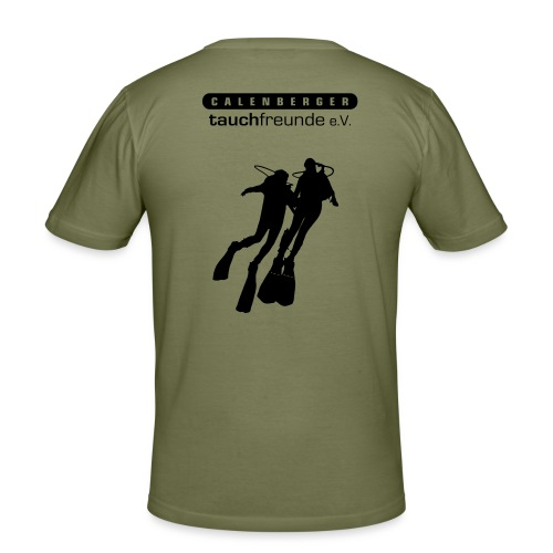 CTF Durchsichtig Vektor - Männer Slim Fit T-Shirt