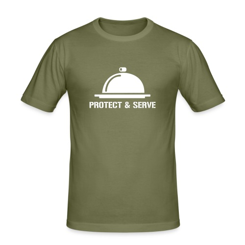 Protect and Serve - T-shirt près du corps Homme