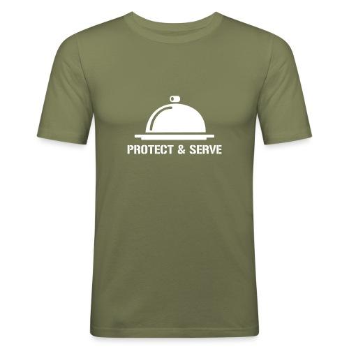 Protect and Serve - T-shirt près du corps Homme