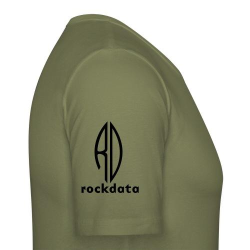 rockdata40 - Miesten tyköistuva t-paita