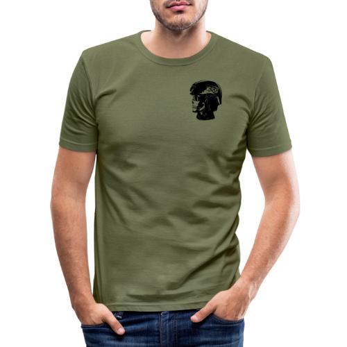 SSG SKULL - Slim Fit T-shirt herr