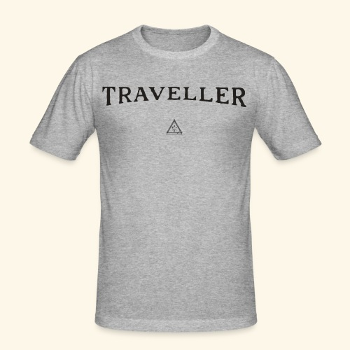 Shirt Reisenden - Männer Slim Fit T-Shirt