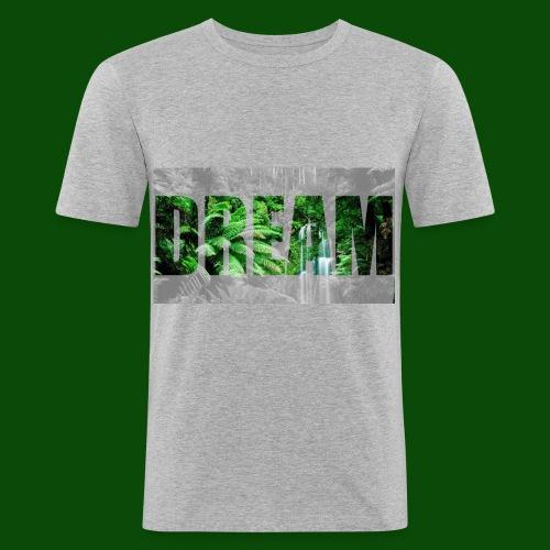 DreamJungle - Männer Slim Fit T-Shirt
