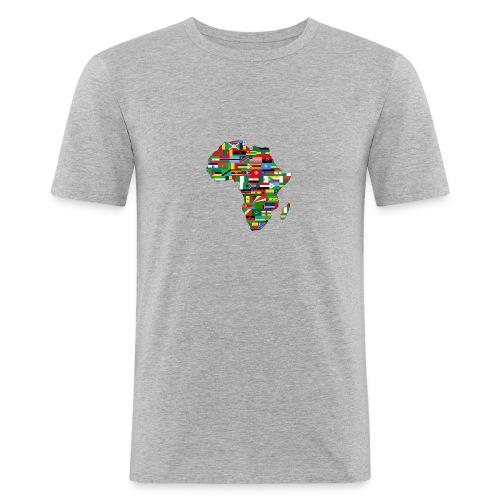 mama africa - T-shirt près du corps Homme