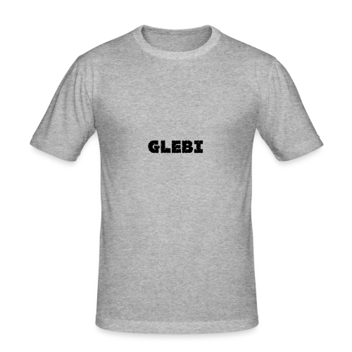 Glebi Shirt - Männer Slim Fit T-Shirt