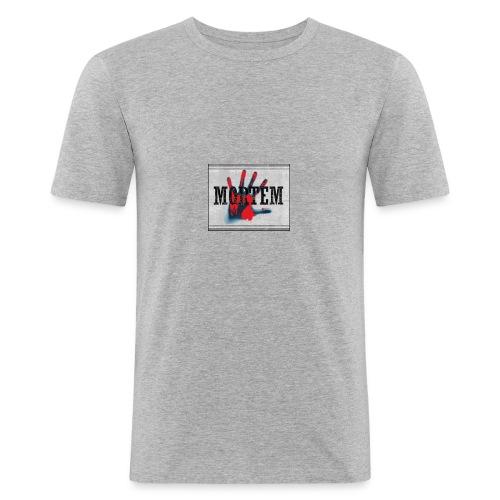 Mortem - Männer Slim Fit T-Shirt