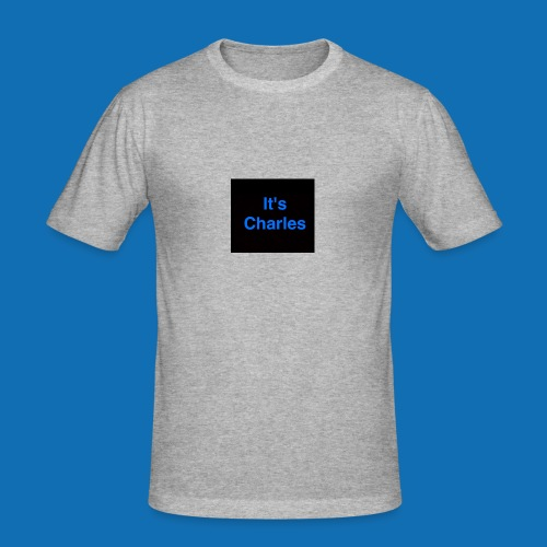 It's Charles - Men's Slim Fit T-Shirt