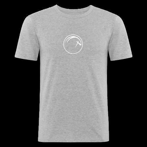 Ocean Oryx Bianco - Maglietta aderente da uomo
