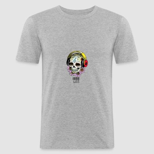 smiling_skull - Men's Slim Fit T-Shirt