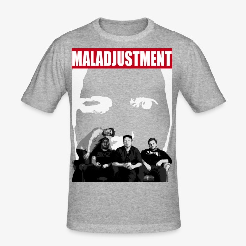 Maladjustment   Band - Männer Slim Fit T-Shirt