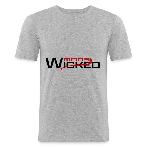 Wicked Mods - Männer Slim Fit T-Shirt