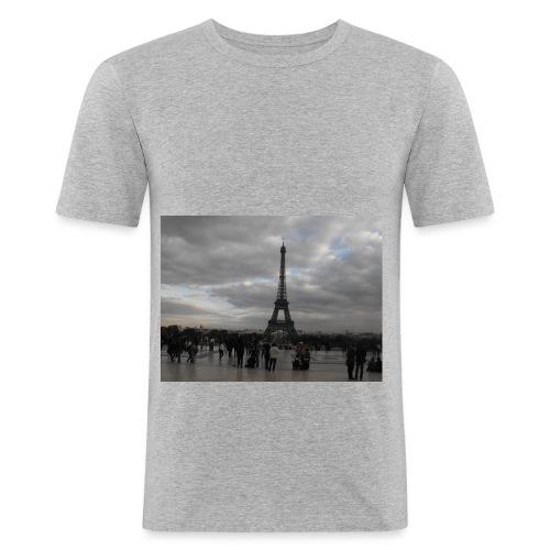 Paris - Maglietta aderente da uomo
