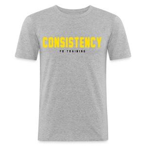 Consistency - Männer Slim Fit T-Shirt