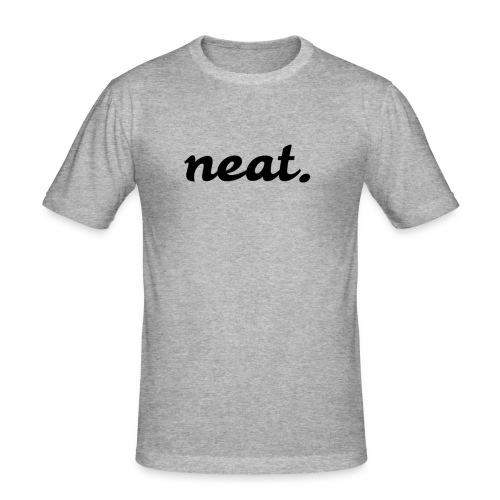neat1 - Männer Slim Fit T-Shirt