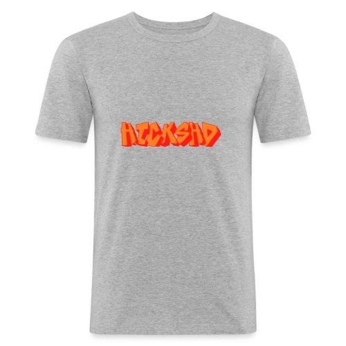 HicksHD Graffiti - Männer Slim Fit T-Shirt