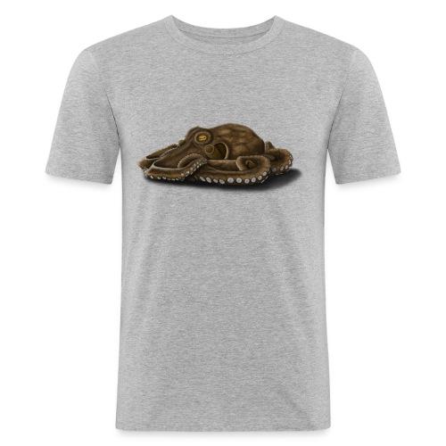 Oktopus - Männer Slim Fit T-Shirt