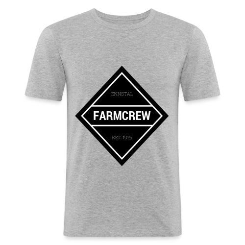 Farmcrew - Männer Slim Fit T-Shirt