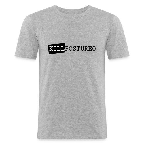 KILLPOSTUREO - Camiseta ajustada hombre
