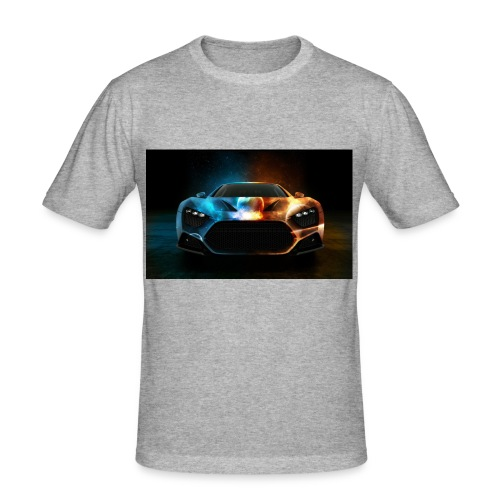 car - Men's Slim Fit T-Shirt
