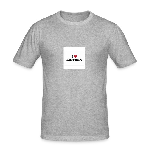 i love eritrea - Männer Slim Fit T-Shirt
