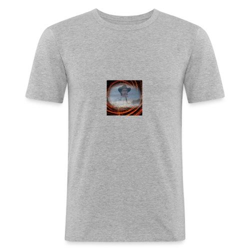 Mario Berlin - Männer Slim Fit T-Shirt