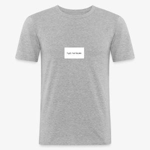 igottrustissues - Herre Slim Fit T-Shirt