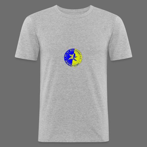 sv47 wappen - Männer Slim Fit T-Shirt