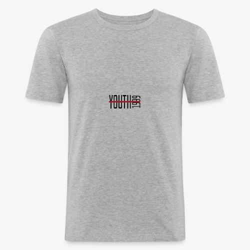 YOUTH1999 - Grey T-Shirt - Sutpecni - Maglietta aderente da uomo