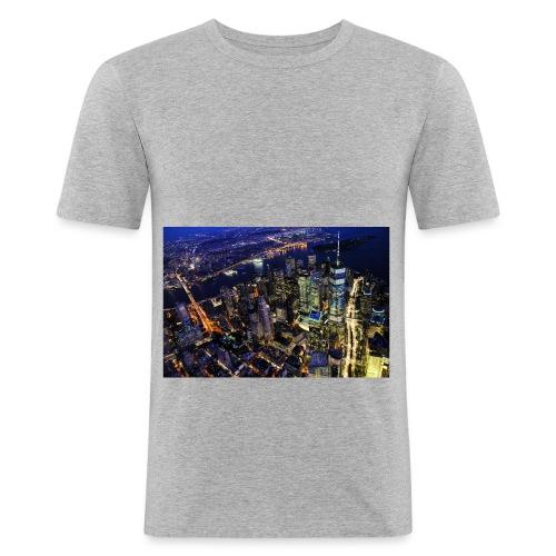New york - T-shirt près du corps Homme
