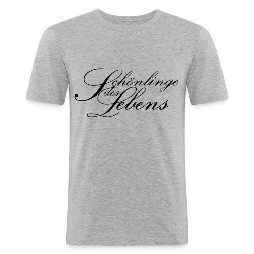 Schönlinge des Lebens - Männer Slim Fit T-Shirt