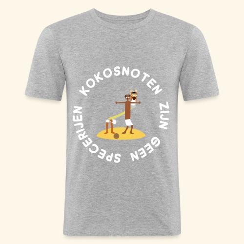 Kokosnoten zijn geen specerijen - slim fit T-shirt
