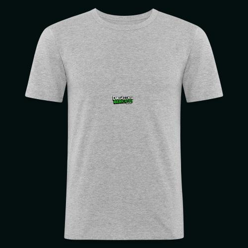 Dagelijkse Berichten Tshirt Logo v1 - slim fit T-shirt