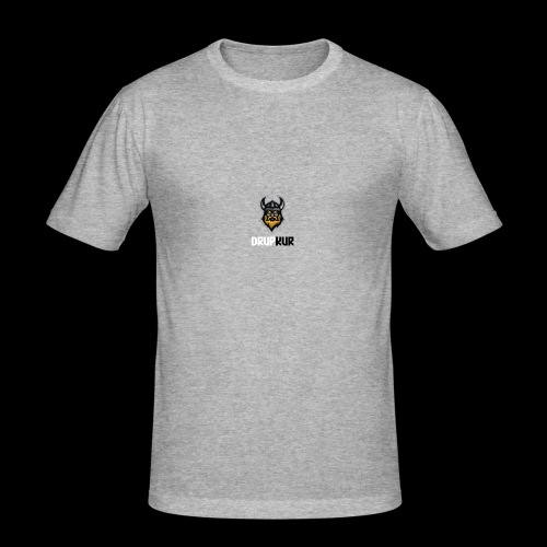 Logo transparent - Slim Fit T-skjorte for menn