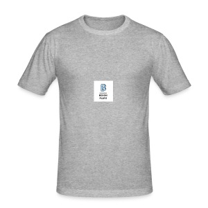Bexon plays logo merch - Men's Slim Fit T-Shirt