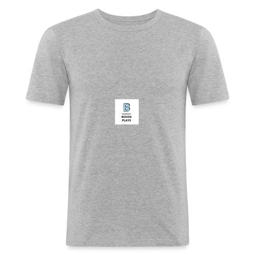 Bexon plays logo merch - Men's Slim Fit T-Shirt